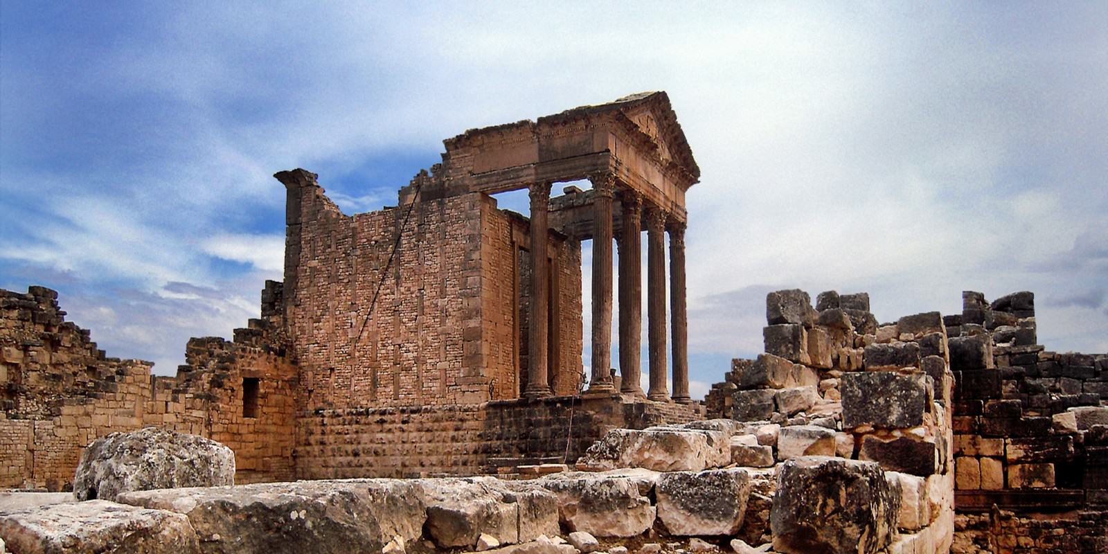 Dougga, An Entire Ancient Roman City