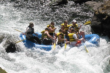 Whitewater Rafting in Tunisia