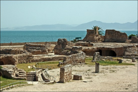 The Antonine Baths tunisia