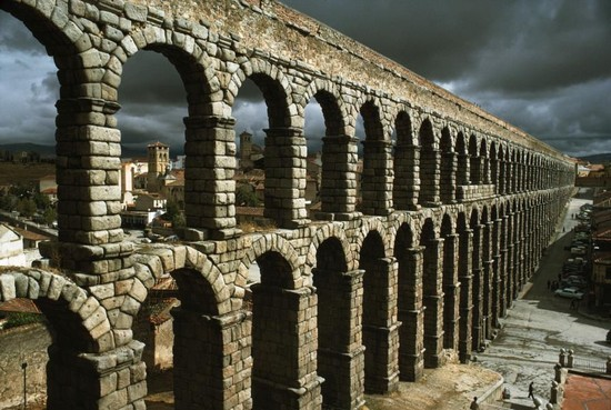 The Zaghouan Aqueduct tunisia